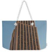 New York Empire State Building Weekender Tote Bag