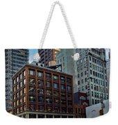 New York Energy Weekender Tote Bag