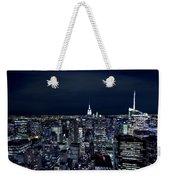 New York Evening Weekender Tote Bag