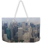 New York From Above Weekender Tote Bag