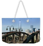 New York From New Jersey - Image 1633-01 Weekender Tote Bag