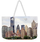 New York From Roosevelt Island Weekender Tote Bag