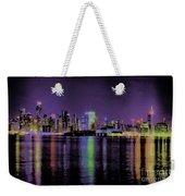 New York In Color Weekender Tote Bag