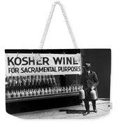 New York Kosher Wine For Sale Weekender Tote Bag