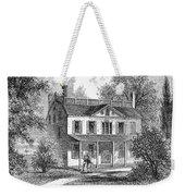 New York: Mansion, 1763 Weekender Tote Bag