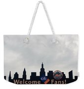 New York Mets Skyline Weekender Tote Bag