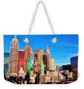 New York Nevada Weekender Tote Bag