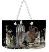 New York New York In Las Vegas Weekender Tote Bag