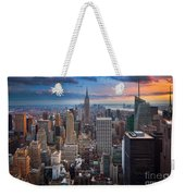 New York New York Weekender Tote Bag