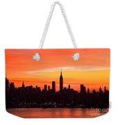 New York November Dawn Weekender Tote Bag