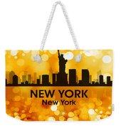 New York Ny 3 Weekender Tote Bag