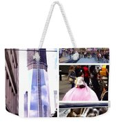 New York Nyc Collage Weekender Tote Bag