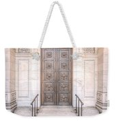 New York Public Library Entrance I Weekender Tote Bag