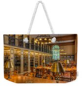 New York Public Library Genealogy Room I Weekender Tote Bag