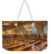 New York Public Library Main Reading Room Ix Weekender Tote Bag