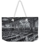 New York Public Library Main Reading Room X Weekender Tote Bag