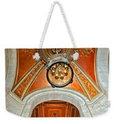 New York Public Library Ornate Ceiling Weekender Tote Bag