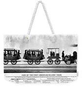 New York Railroad, 1832 Weekender Tote Bag