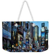 New York Rush Hour Weekender Tote Bag