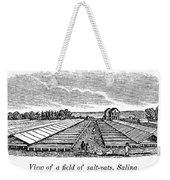 New York Salina, 1841 Weekender Tote Bag
