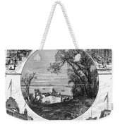 New York Saratoga, 1874 Weekender Tote Bag