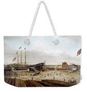 New York Shipyard, 1833 Weekender Tote Bag
