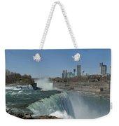 New York Side Of Niagara Falls Weekender Tote Bag
