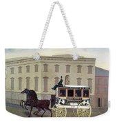 New York Stagecoach Weekender Tote Bag