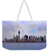 New York - Standing Tall Weekender Tote Bag by Bill Cannon