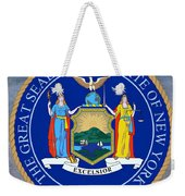 New York State Seal Weekender Tote Bag
