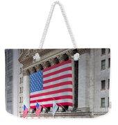 New York Stock Exchange IIi Weekender Tote Bag