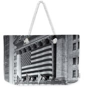 New York Stock Exchange Iv Weekender Tote Bag
