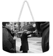 New York Street Photography 16 Weekender Tote Bag