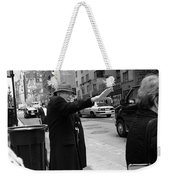 New York Street Photography 27 Weekender Tote Bag by Frank Romeo