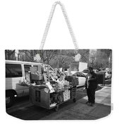 New York Street Photography 5 Weekender Tote Bag by Frank Romeo