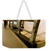 New York Subway Weekender Tote Bag