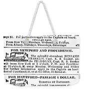 New York Sun, 1833 Weekender Tote Bag
