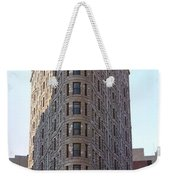 New York - The Flat Iron Building Weekender Tote Bag