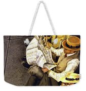 New York Times Weekender Tote Bag