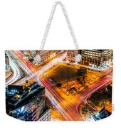 New York Traffic Weekender Tote Bag