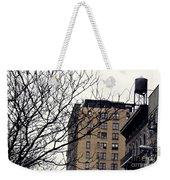 New York Winter Day Weekender Tote Bag