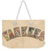 New York Yankees Poster Art Weekender Tote Bag