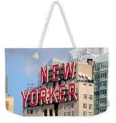 New Yorker Weekender Tote Bag