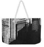New York's Financial District Weekender Tote Bag