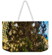 New York's Holiday Tree Weekender Tote Bag