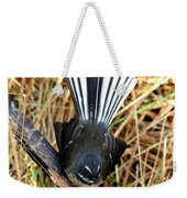 New Zealand Fantail Weekender Tote Bag