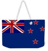 New Zealand Flag Weekender Tote Bag