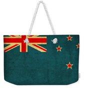 New Zealand Flag Vintage Distressed Finish Weekender Tote Bag