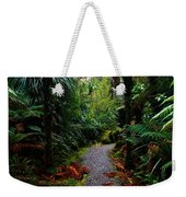 New Zealand Rainforest Weekender Tote Bag
