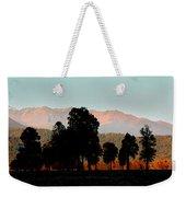 New Zealand Silhouette Weekender Tote Bag